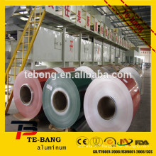 Hot sale prepaint aluminum color coated sheet in coil for curtain wall