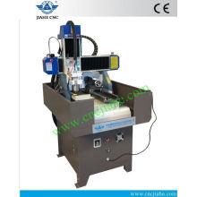 Mini fresadora portable del CNC para la venta JK-4040 con el carril de guía cuadrado linear de PMI