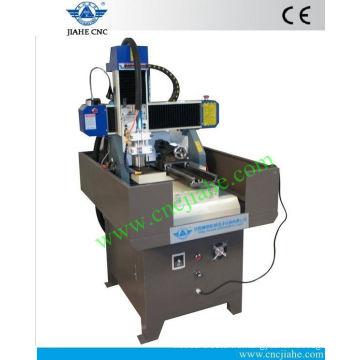 Шаньдун Цзинань дешевые хобби фрезерный станок с ЧПУ 400*400мм с Роторной для продажи