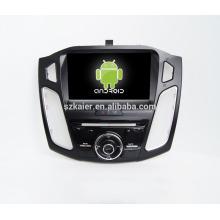 """9 """"android carro dvd para foco 2015 com 3G / 4G + link espelho, OEM + fábrica diretamente"""