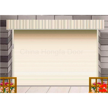 Remote Control Residential Metal Sectional Garage Door
