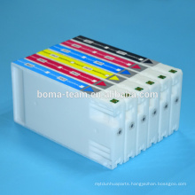 white color One time use inkjet cartridge for epson surelab d700