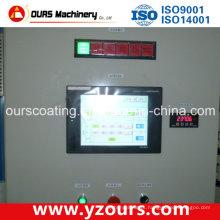 Sistema de controle elétrico com painel de toque avançado