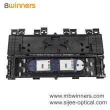 Boîte de jonction en plastique de type horizontal 24/48/96 fibres