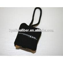 2014 der einzigartige und billigste Mikrofaser-Werbeartikel Mini-Stoff-Schlüsselanhänger