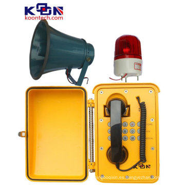 Loud Speaking resistente a la intemperie para el teléfono de emergencia del área industrial