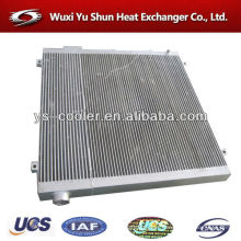 chinese manufacturer of hot selling and high performance customizable aluminum air oil cooler for compressor