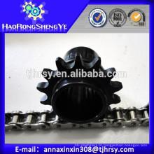 C45 Corrente de roda de aço inoxidável e rolo de aço inoxidável