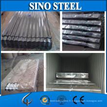 Jisg3303 Z80 0.17mm Galvanzied feuille de toiture en métal