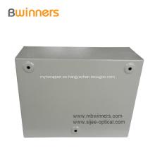 Caja de caja de distribución de fibra montada en la pared FTTH