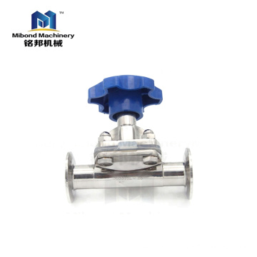 Китайские производители Полностью укомплектованные санитарно-ручные / пневматические регулирующие клапаны из нержавеющей стали 316L Мембранный клапан