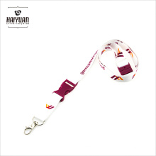 Heat Transfer Printing Lanyard with Custom Pantone Plastic Buckle
