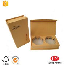 Luxuskarton-Teepapier-Geschenkboxverpackung