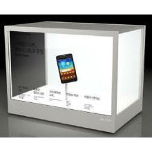 Visor LCD de 32 polegadas transparente para centro comercial