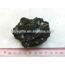 Natürlicher rauer Diopside Steinfelsen, natürlicher roher Stein ROCK