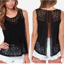 2016 Summer New Style Sexy Lace Backless Women Tank Top