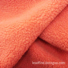 Fleece fabric, 96F/144F, brushed and anti-piling