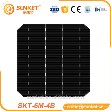 A grade 21-24% Highest Efficiency Mono Crystalline Solar Cell without Busbar
