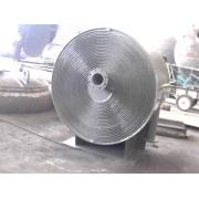 40m 2 35.30velocity 1 m/ces lors de la manipulation m3/h de capacité échangeur à spirale