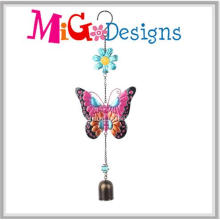 Colorful Metal Butterfly Garden Wind Chimes for Sale