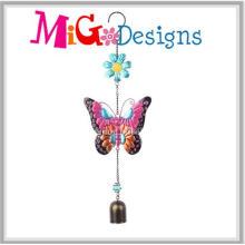 Красочные металл Бабочка сад ветер куранты для продажи