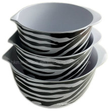 3PCS Melamine Mixing Bowl Set