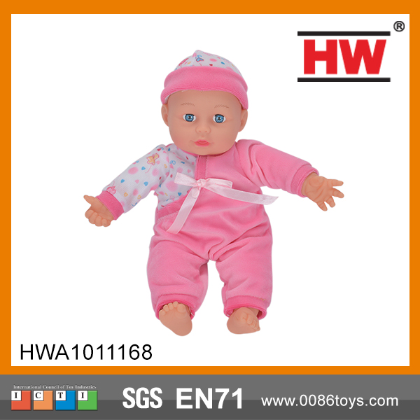 Good quality 13inch  kids doll