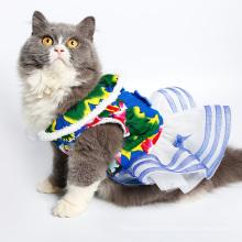 La robe de chien d'animal de compagnie de vêtements de chien habille le chien de nouvel an chinois