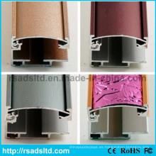 Sección de Perfil de aluminio para la pantalla de caja ligera delgada del LED