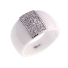 925 Sterling Silver Wedding Jewelry Ring (R21054)