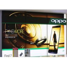 Pantalla de la caja de luz de la tela sin marco Streatch de publicidad