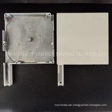 Roller Blind Accessories/ Rolling Shutter Door Parts, 137mm/90 Degree Painted Aluminium End Caps