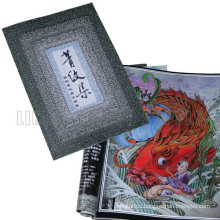 The Fanshion profession custom design Tattoo Book On hot Sale