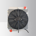 Aluminum heat exchanger with fan for sale