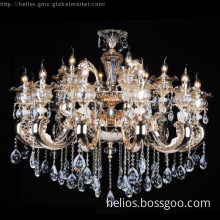 Die-Casting Crystal Chandelier Lighting KD6879-12+6
