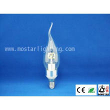 Hotel Lighting LED Candle light  3W E14