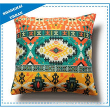 Home Decoration Colorful Totem Printed Throw Pillow