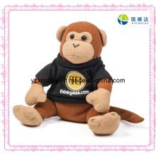 Plush Timmy Thinkgeek macaco brinquedo com roupas pretas