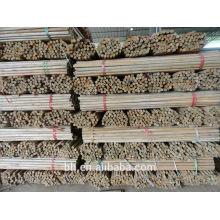 Eco-friendly casa de madeira natural rodada Stick