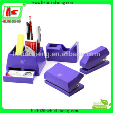 HOT ! office plastic stationery set handmade paper stationery set