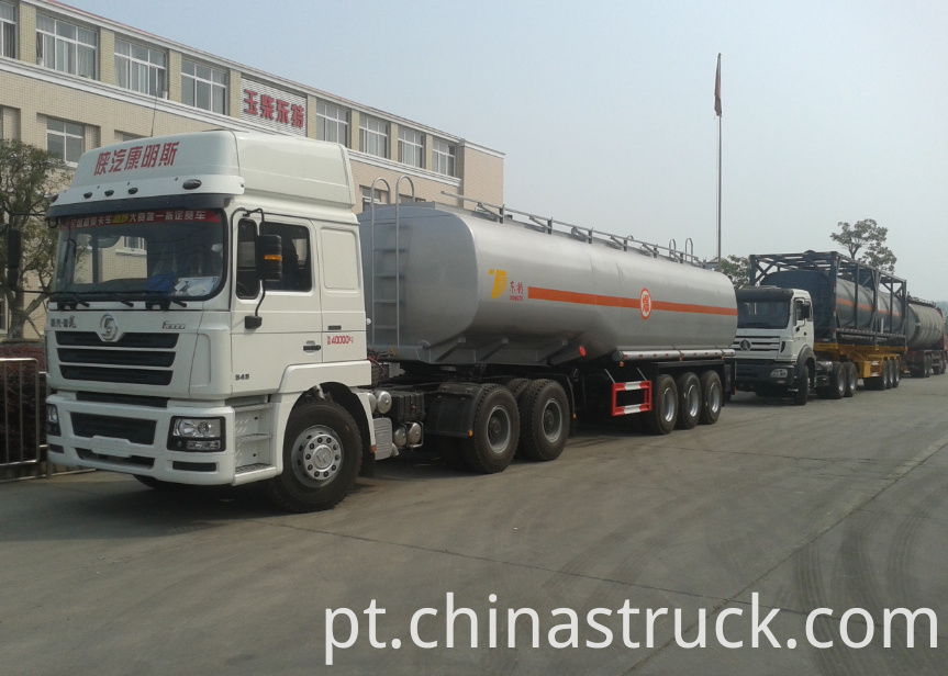 40CBM fuel tank semi-trailer