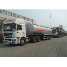 3 axle 40CBM fuel tank semi-trailer