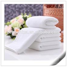 Customized Size Towel Sets White 100% Cotton Wholesale Hotel Balfour Towels