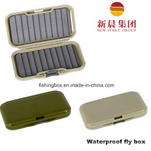 Green Waterproof Fly Fishing Box