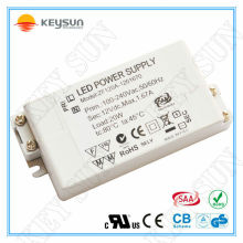 Электронный светодиодный трансформатор 12v 20w, драйвер водить 12v 20w, 20w драйвер 24v для светодиодной подсветки