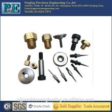 Verschiedene maßgeschneiderte Metallschraubenbolzen