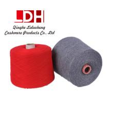 Estampado de lana de cachemira para tejer a mano Ropa de bebé Máquina de tejer hilado de cachemira tejer hilo de tejer