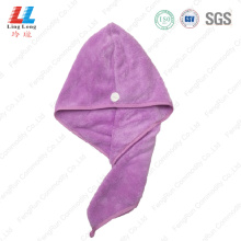 Hot color hair fast dry towel headband