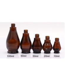Botella pequeña con cuentagotas de vidrio 10ml (NBG07)
