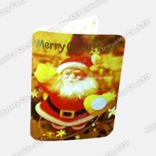 Christmas Greeting Card, Music Christmas Card